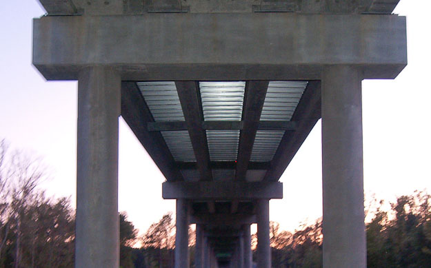 L. Elmore Hodges Bridge - A View from Below